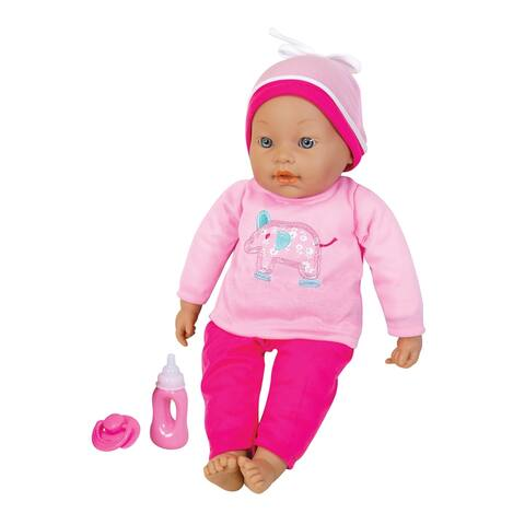 """Lissi 16"""" Interactive Baby Doll with accessories"""