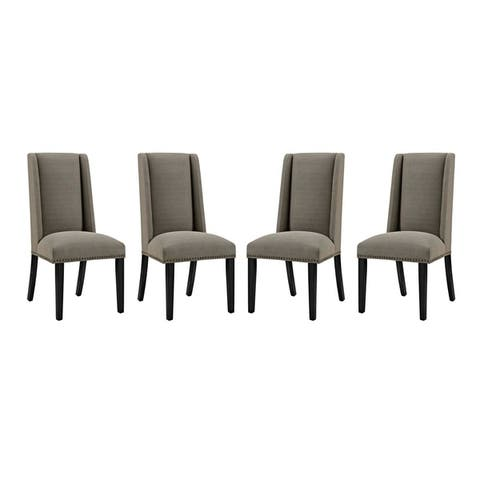 Baron Dining Chair Fabric Set of 4