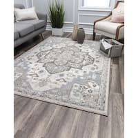 Noble Grace Cream Vintage Transitional Rug