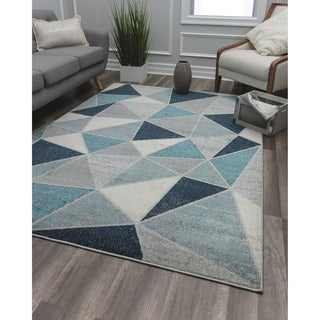 Prism Contemporary Geometric Rug