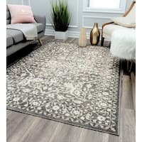 Leopold Grey Transitional Oriental Rug