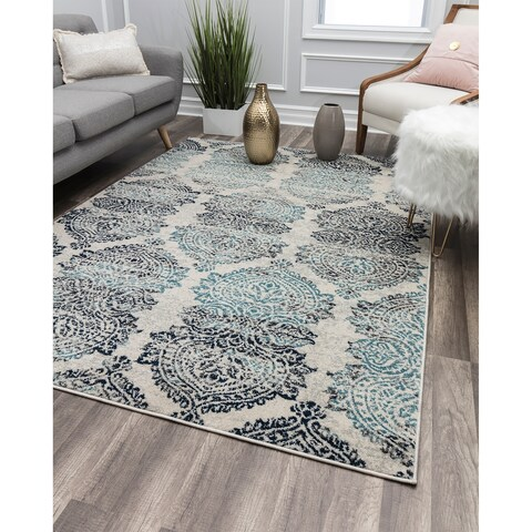 City Dweller Contemporary Geometric Rug