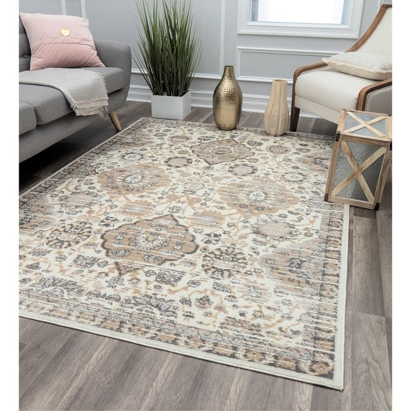 Cordial Florals Transitional Oriental Rug