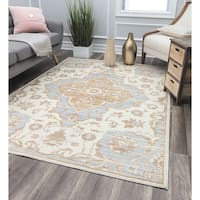 Stardom Yellow Transitional Oriental Rug