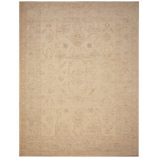 Handmade Vegetable Dye Khotan Wool Rug (Afghanistan) - 9'3 x 12'