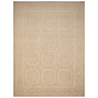 Handmade Vegetable Dye Khotan Wool Rug (Afghanistan) - 9'1 x 12'