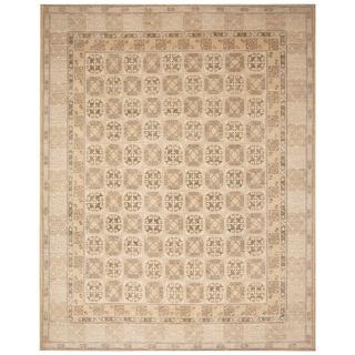 Handmade Vegetable Dye Khotan Wool Rug (Afghanistan) - 9'1 x 11'5
