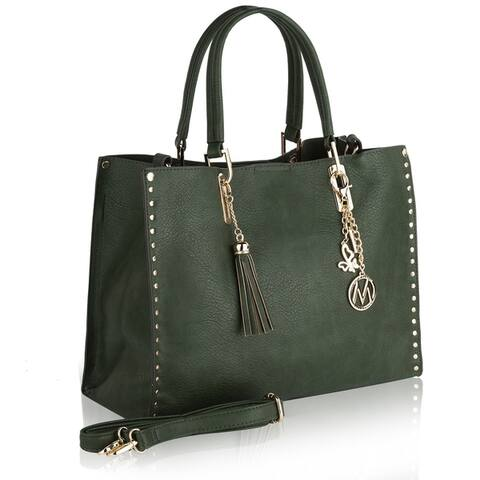 MKF Collection Royalty Lightweight Tote Bag by Mia K. Farrow