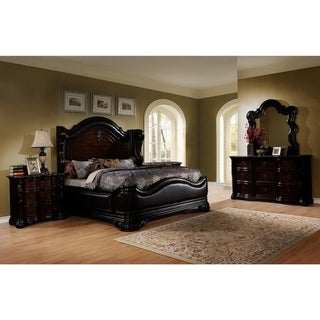 Best Master Furniture Walnut 5-piece Bedroom Set