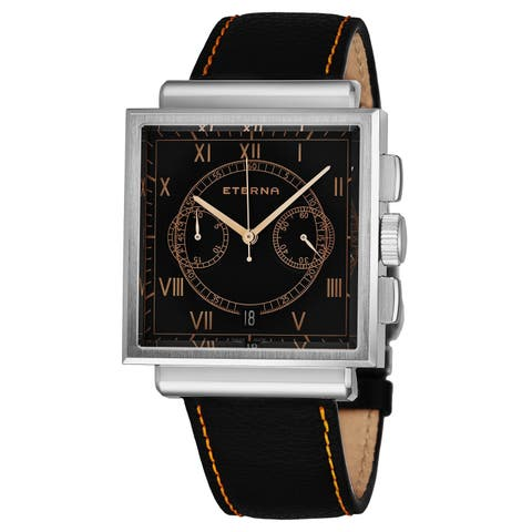 Eterna Men's 1938.41.45.1250 Heritage Chronograph Limited Edition Automatic Swiss Made Watch