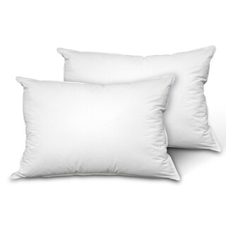 2 Pack Cooling Down Alternative Pillows with Coolmax Blended Cover