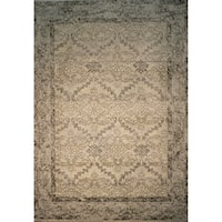 Silver Abstract 2x3 Rug - 2' x 3'