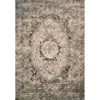 Abstract 2x3 Rug White - 2' x 3'