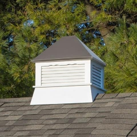 Select Series Rectangle Vinyl Cupola