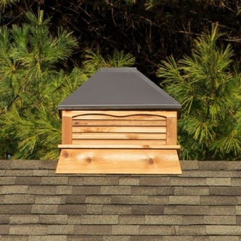 Select Series Rectangle Cedar Cupola