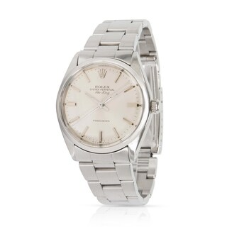 Pre-Owned Rolex Air-King 5500 Men's Watch in Stainless Steel