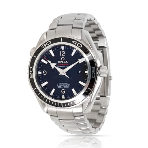 Pre-Owned Omega Quantum of Solace 222.30.46.20.01.001 Men's Watch in Stainless Steel