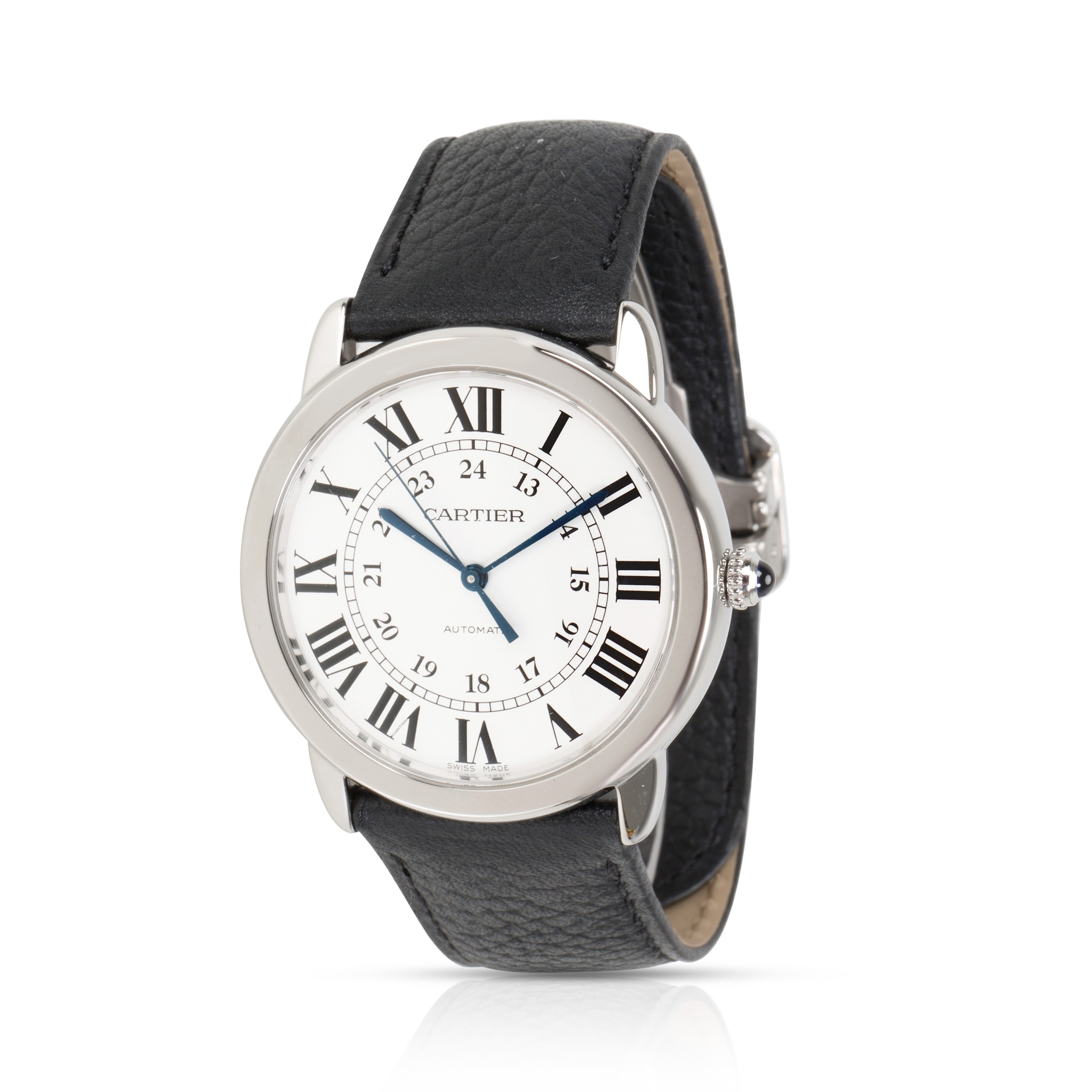 Pre-Owned Cartier Ronde Solo WSRN0021 Mens Watch in Stainless Steel