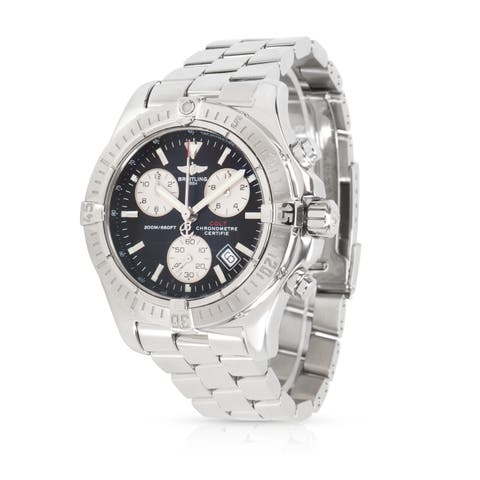 Pre-Owned Breitling Colt Chronograph A73380 Men's Watch in Stainless Steel