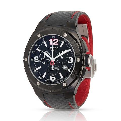 Pre-Owned Alpina Racing Chrono AL352X5AR6 Men's Watch in PVD