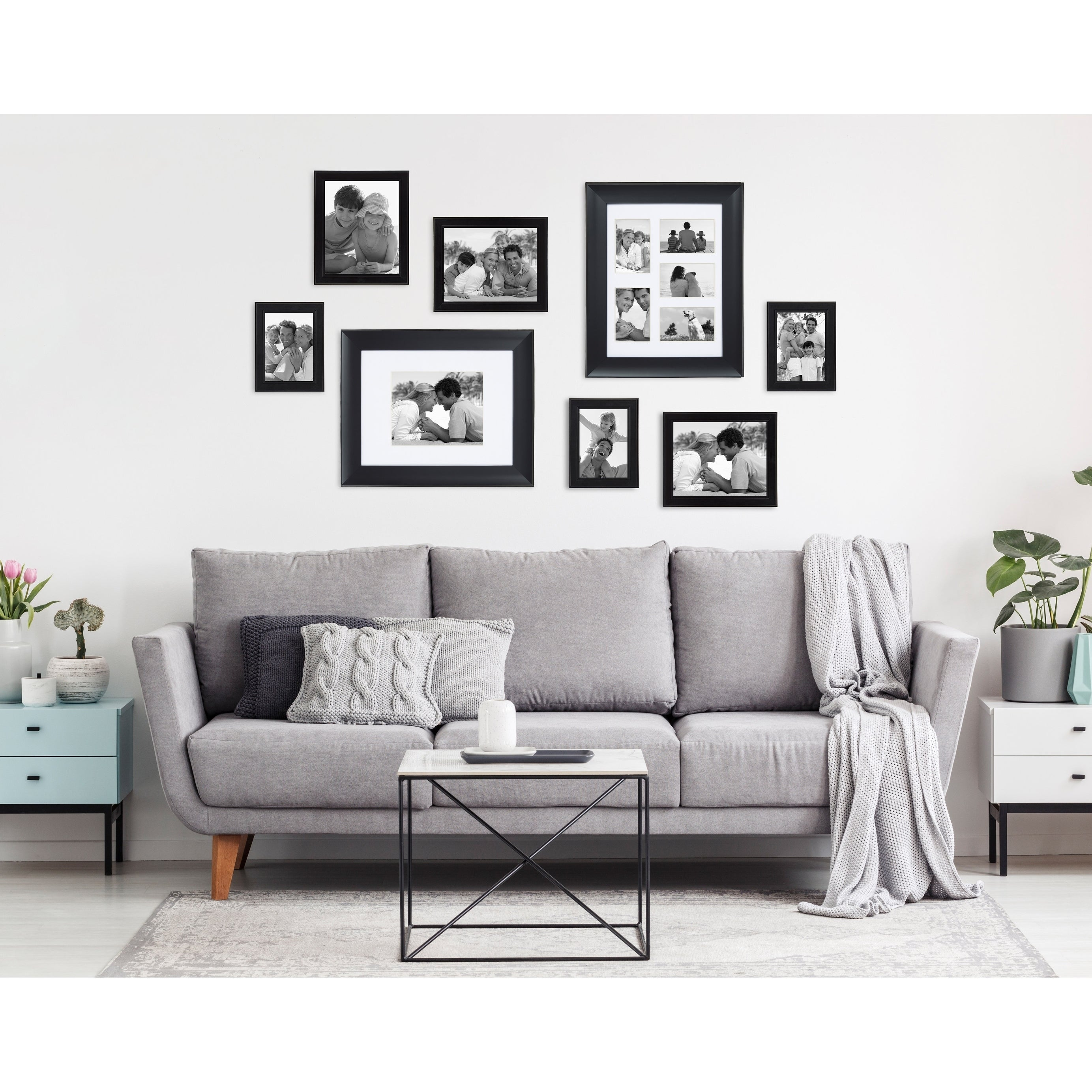 Designovation Scoop 12x16 Matted To 8x10 Picture Frame Overstock 26440787 12x16 Matted To 8x10 Cherry