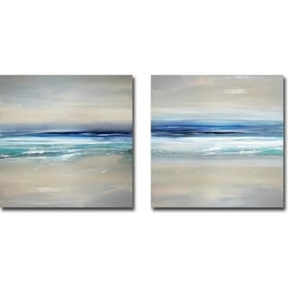 Sway I & II by Rachel Springer 2-piece Gallery Wrapped Canvas Giclee Art Set (Ready to Hang)