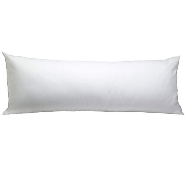 Hotel Laundry Allergy Down Alternative Body Pillow - White - Body Pillow