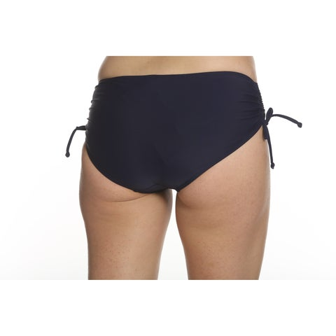 Sun and Sea Missy High Waist Bottom with Side Shirring