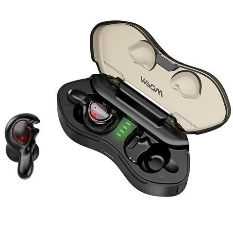 Mpow T7 True Wireless Bluetooth Earbuds, Bluetooth 5.0 In-ear Earphones with Charging Case