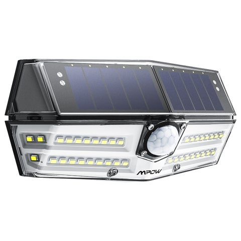 Mpow Premium 40-LED Solar Lights Outdoor Motion Sensor Lights with 24.5% High-efficient Solar Panel