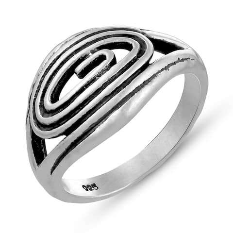 Plain Ring Plain in .925 Sterling Silver