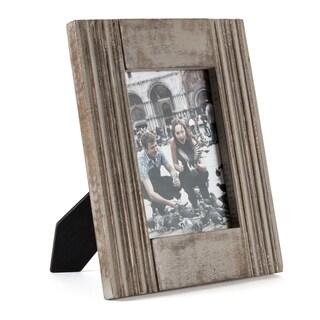 "Parma Grey Wood Frame 5""X7"""