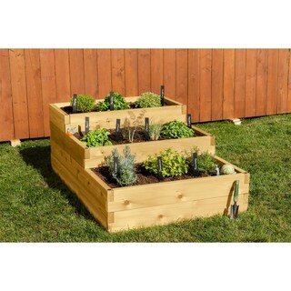 4-Way Raised Garden Bed - N/A