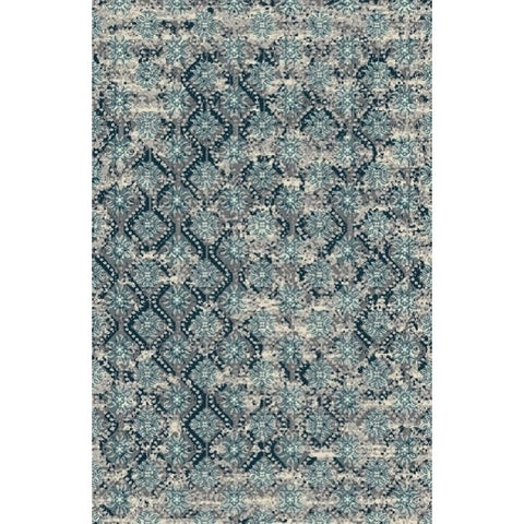 Contemporary 2x3 Rug Turquoise - 2' x 3'