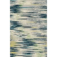 Silver Contemporary 2x3 Rug - 2' x 3'