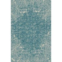 Blue Contemporary 2x3 Rug - 2' x 3'
