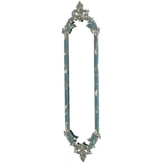Victorian Style Metal Frame Mirror