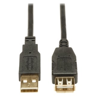 Tripp Lite 10ft USB 2.0 Hi-Speed Extension Cable Shielded A Male / Fe