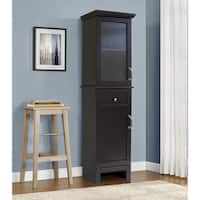 OS Home and Office Furniture Beacon Hill Model 3876 Bathroom Storage and Linen Tower