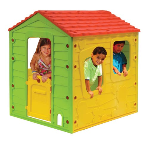 Meadow Cottage Playhouse - Classic Color Combination