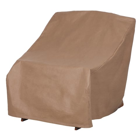Duck Covers Essential Water-Resistant 32 Inch Patio Adirondack Chair Cover