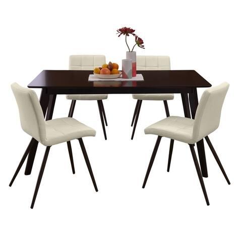 Carson Carrington Nordland 5-piece Rectangle Table