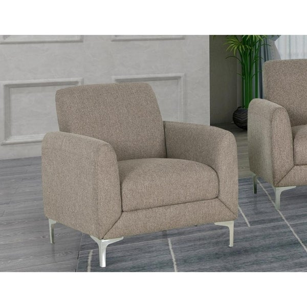 Best Master Furniture Wheat Fabric Upholstered Armchair. Opens flyout.