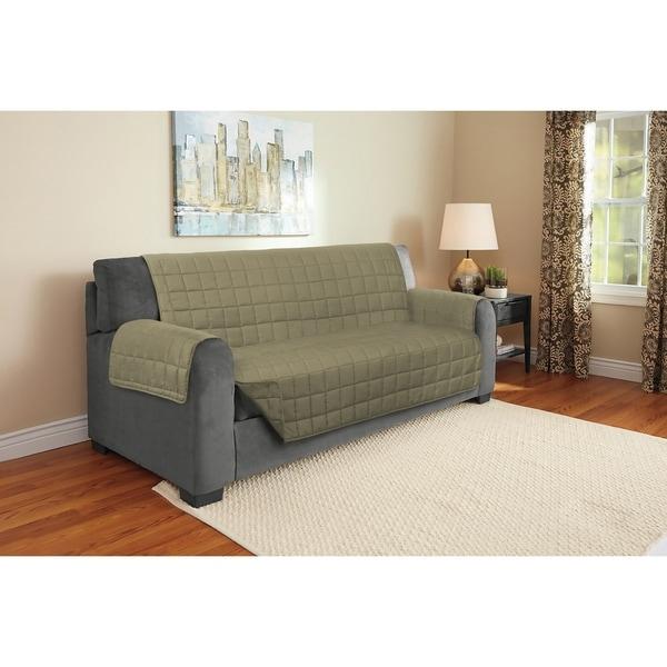 Harper Lane Faux Suede Furniture Protector for Sofa