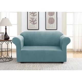 Harper Lane Faux Suede Slipcover for Love Seat