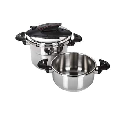Prisma 4&6 Qts Stainless Steel Pressure Cooker
