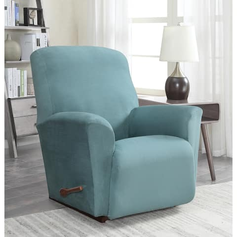 Harper Lane Faux Suede Slipcover for Chair Recliner