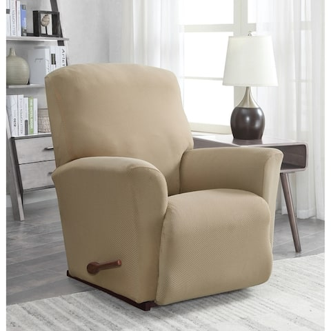 Harper Lane Solid Pique Slipcover for Chair Recliner