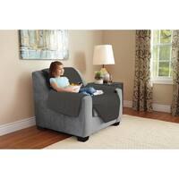 Harper Lane Box Stitch Faux Suede Chair Furniture Protector