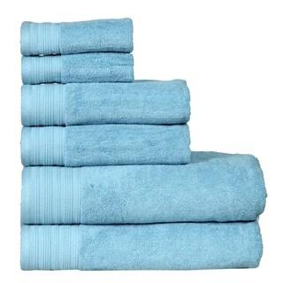 Berkley Fade Resistant, Luxury Hotel & Spa Quality, 6 Piece Towel Set (2-Bath, 2-Hand, 2-Wash)